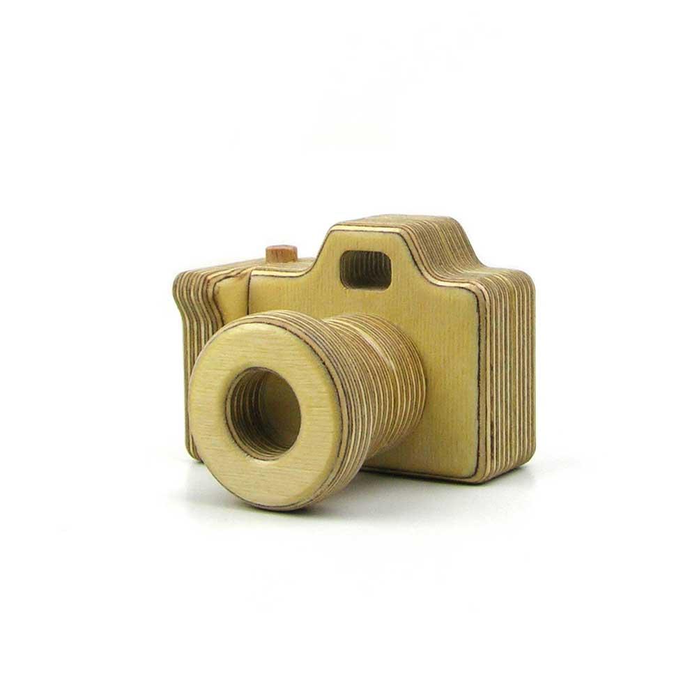 Rontool - Spielzeug aus Holz - Holzspielzeug Kamera Holzspielzeug fuer Kinder und Erwachsene Männer und Frauen Spielzeug aus Holz robust sicher