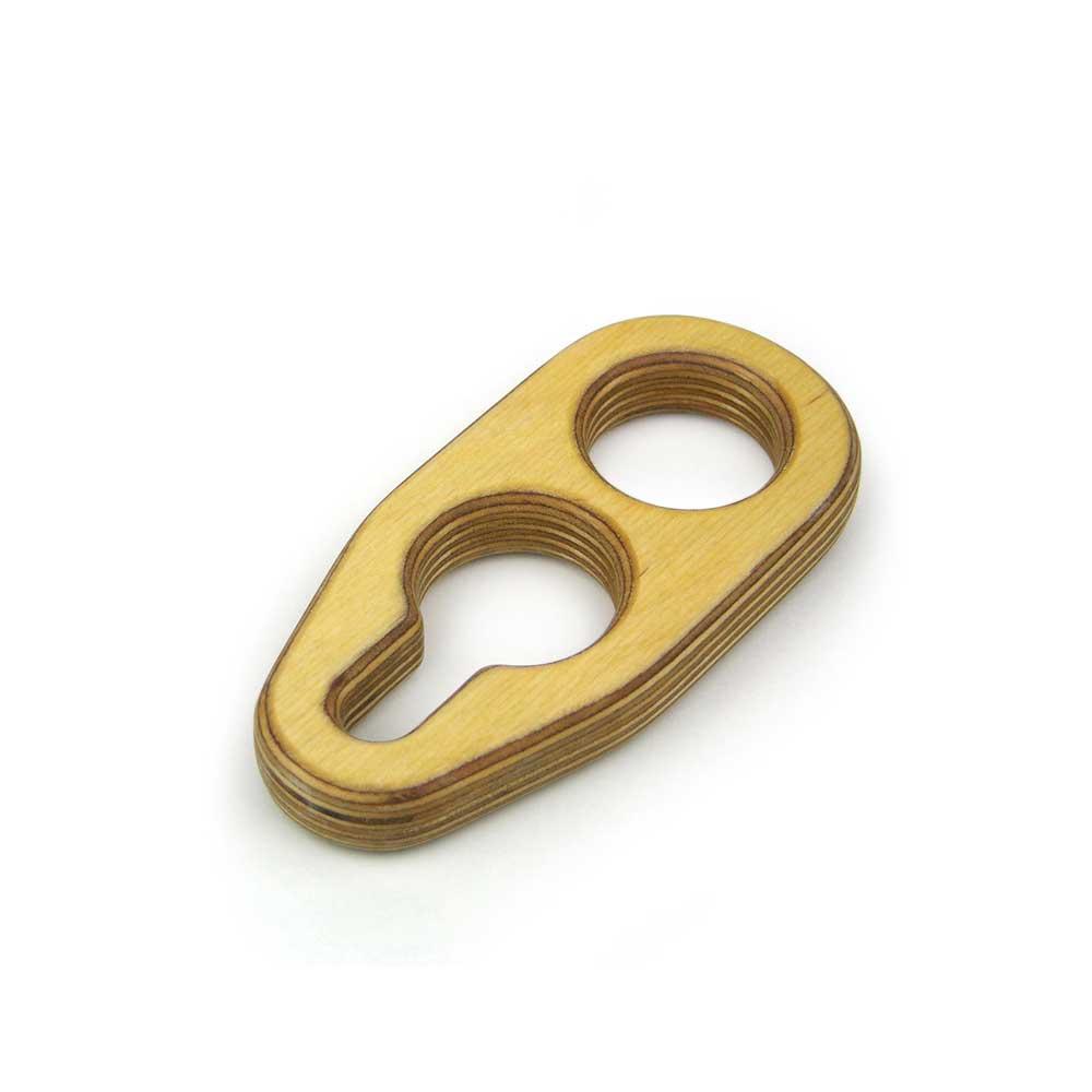 Rontool - Spielzeug aus Holz - Holzspielzeug Doppelschlaufe Oese Holzspielzeug fuer Kinder und Erwachsene Männer und Frauen Spielzeug aus Holz robust sicher