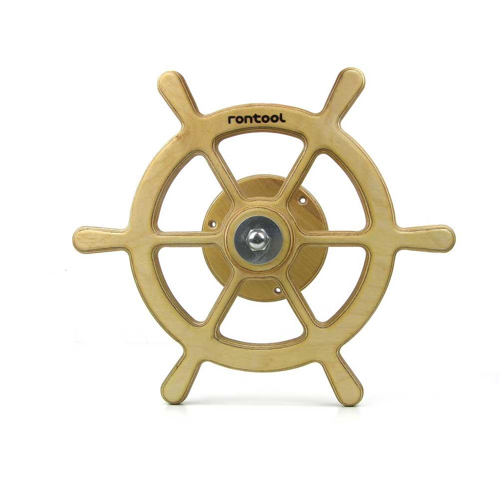 Rontool - Spielzeug aus Holz - Holzspielzeug Fahrzeuge Lenken Lenkrad Schiff Boot Segeln fuer Kinder robust toll sicher aus Deutschland