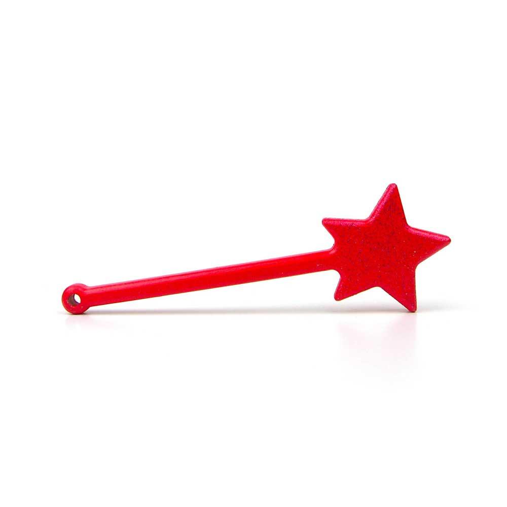 Rontool - Spielzeug aus Holz - Holzspielzeug Zauberstab Zauberstaebe in rot fuer Kinder robust toll sicher aus Deutschland
