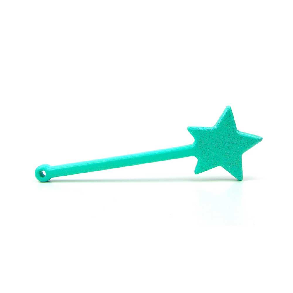 Rontool - Spielzeug aus Holz - Holzspielzeug für Hexer und Hexen oder Zauberer Hexenstab Stab zum Zaubern Zauberstab Zauberstaebe fuer Kinder robust toll sicher aus Deutschland